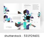 geometric background template... | Shutterstock .eps vector #531924601