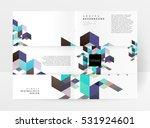 geometric background template... | Shutterstock .eps vector #531924601