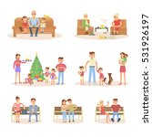 different types of married... | Shutterstock . vector #531926197