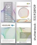 business templates for brochure ... | Shutterstock .eps vector #531928939