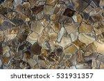 artistic sandstone wall texture ... | Shutterstock . vector #531931357