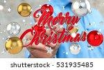 businessman on blurred... | Shutterstock . vector #531935485