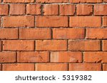 section of red brick wall for... | Shutterstock . vector #5319382
