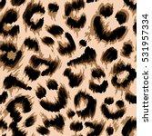 stylized leopard print... | Shutterstock .eps vector #531957334