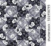 vector abstract seamless hand... | Shutterstock .eps vector #531958795