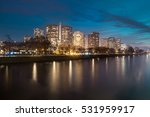 skyline of the grenelle block... | Shutterstock . vector #531959917