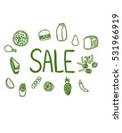 food and drink season sale ... | Shutterstock .eps vector #531966919