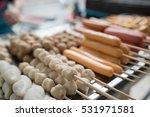 meatball thai | Shutterstock . vector #531971581