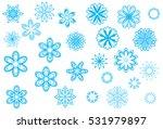 crystallized  ornate and... | Shutterstock .eps vector #531979897