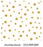 golden snowfall vector seamless ... | Shutterstock .eps vector #531989389