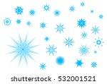 crystallized radiant star... | Shutterstock .eps vector #532001521