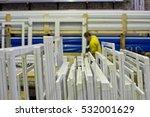 plastic profile for plastic...   Shutterstock . vector #532001629