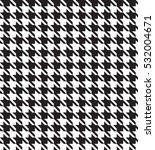 seamless pattern of crow's feet | Shutterstock .eps vector #532004671