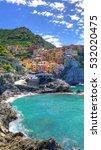 the colorful coast in cinque... | Shutterstock . vector #532020475