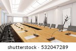 big conference room with table... | Shutterstock . vector #532047289