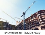 high building under... | Shutterstock . vector #532057639