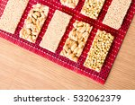 collection of beans candies and ... | Shutterstock . vector #532062379