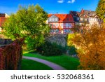 color image of the idyllic... | Shutterstock . vector #532068361
