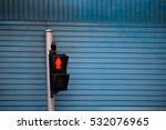 Pedestrian Signal  Red Signal...