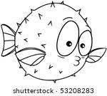 blowfish | Shutterstock .eps vector #53208283