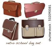 school bag isolated | Shutterstock . vector #532090081