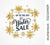 vector illustration of winter... | Shutterstock .eps vector #532104409