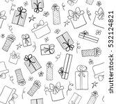 christmas gift boxes. hand...
