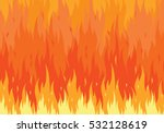 fire flames background. flat...