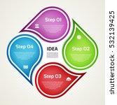 vector infographic design...   Shutterstock .eps vector #532139425