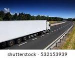 truck transportation | Shutterstock . vector #532153939