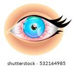 red eyes | Shutterstock .eps vector #532164985