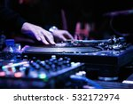 moscow 1 may 2016 dj plays... | Shutterstock . vector #532172974