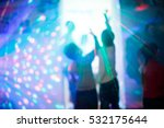 children at a disco during the... | Shutterstock . vector #532175644