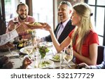restaurant chilling out classy... | Shutterstock . vector #532177729
