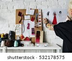 fashion designer stylish... | Shutterstock . vector #532178575