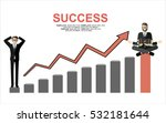 financial success  financial... | Shutterstock .eps vector #532181644