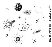 Vector Illustration Of Univers...