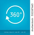 virtual reality icons series ...   Shutterstock .eps vector #532187665