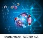 respiration system organs.... | Shutterstock .eps vector #532205461