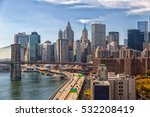Lower Manhattan With Fdr Drive...