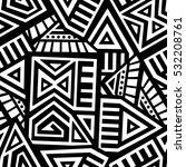 unique geometric vector... | Shutterstock .eps vector #532208761