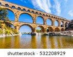 Ancient Roman Aqueduct In...