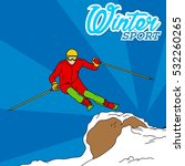 winter sport theme