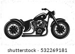 black bike. vector illustration   Shutterstock .eps vector #532269181