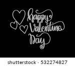 happy valentine's day... | Shutterstock .eps vector #532274827