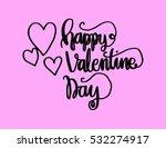 happy valentine's day... | Shutterstock .eps vector #532274917