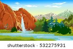 waterfall | Shutterstock . vector #532275931