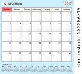 2017 calendar planner design ... | Shutterstock .eps vector #532286719