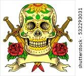 vector illustration of flowers...   Shutterstock .eps vector #532293031