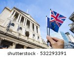 Hand Holding European Union An...